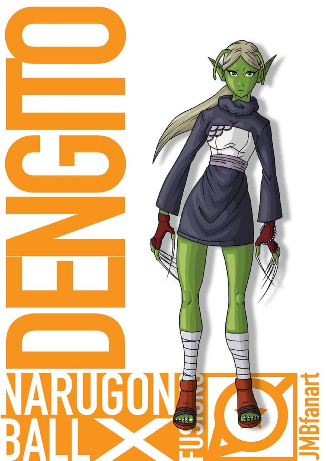 Naruto Fanart Dibujos de Dragon Ball