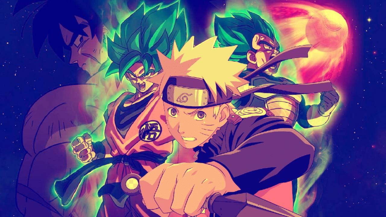 Dibujos de Dragon Ball Fanart Naruto