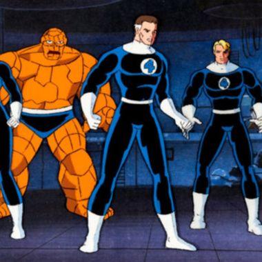 personajes de marvel fantastic four legends hasbro
