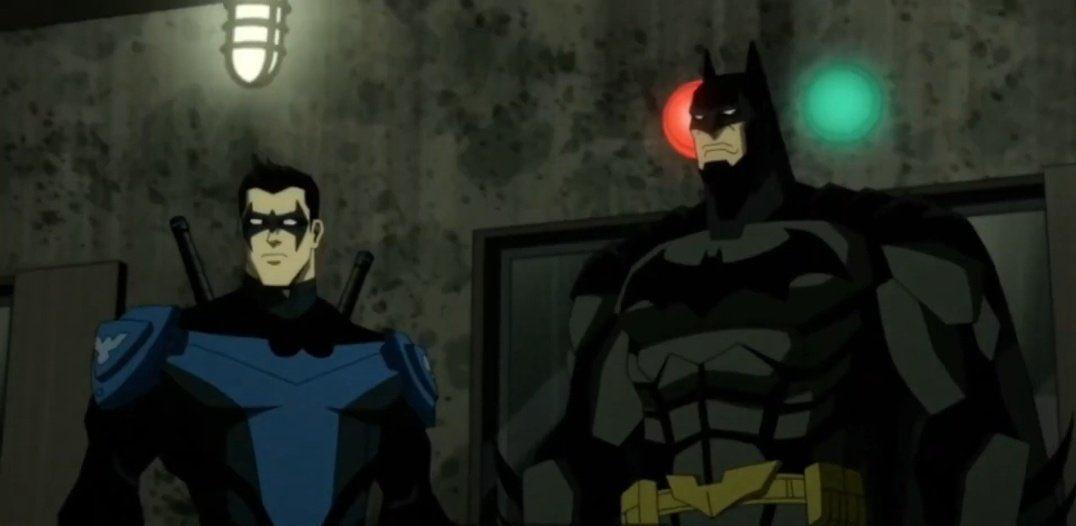 Injustice pelicula animada batman nightwing