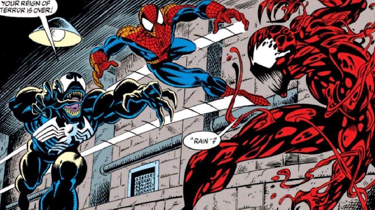 imagenes de venom spiderman