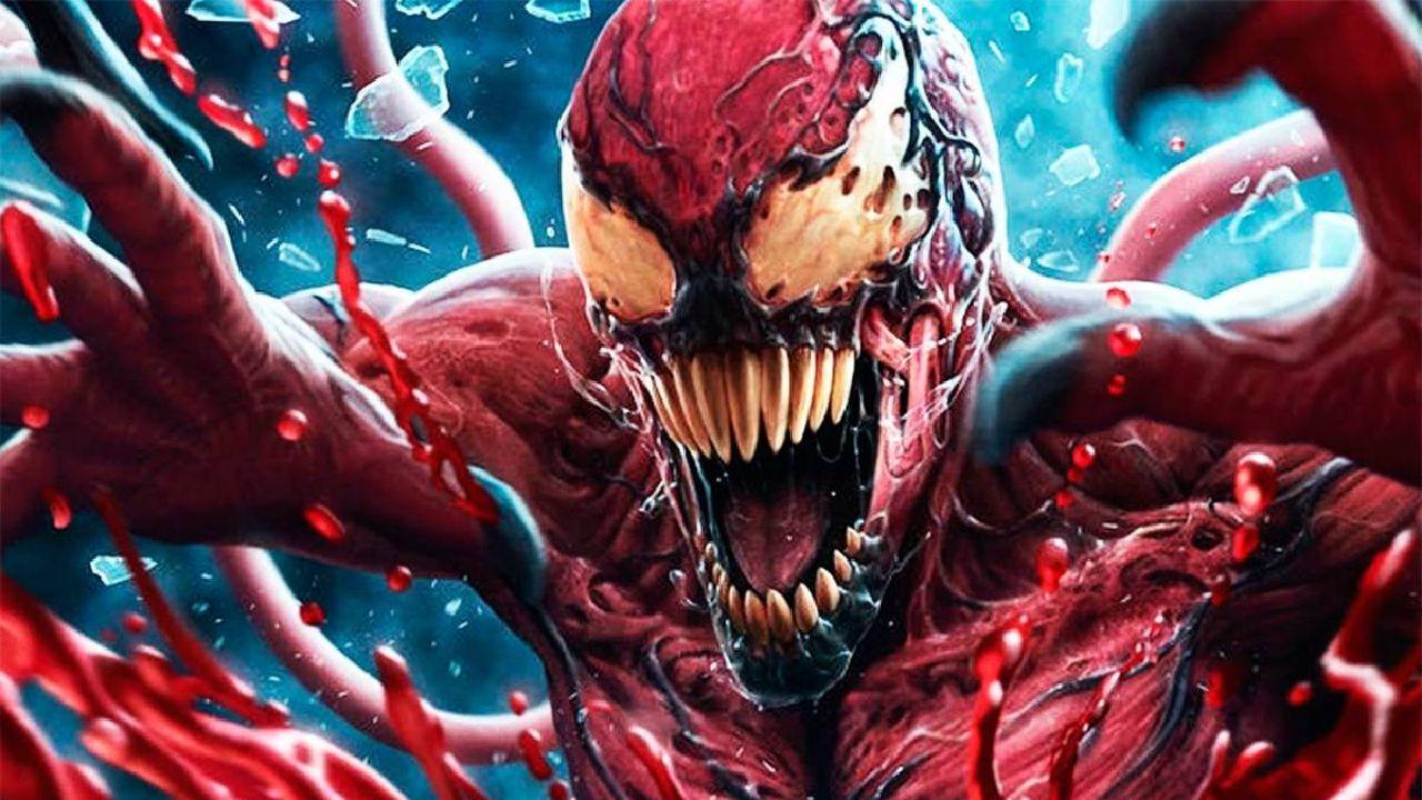 dibujos de venom carnage