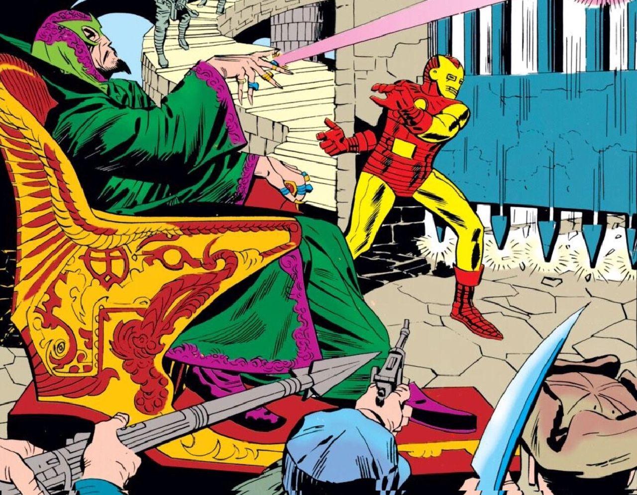 superheroes de marvel iron man