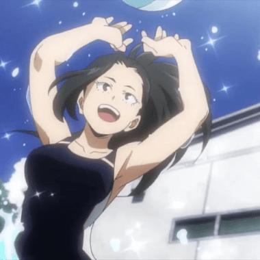 my hero academia anime momo