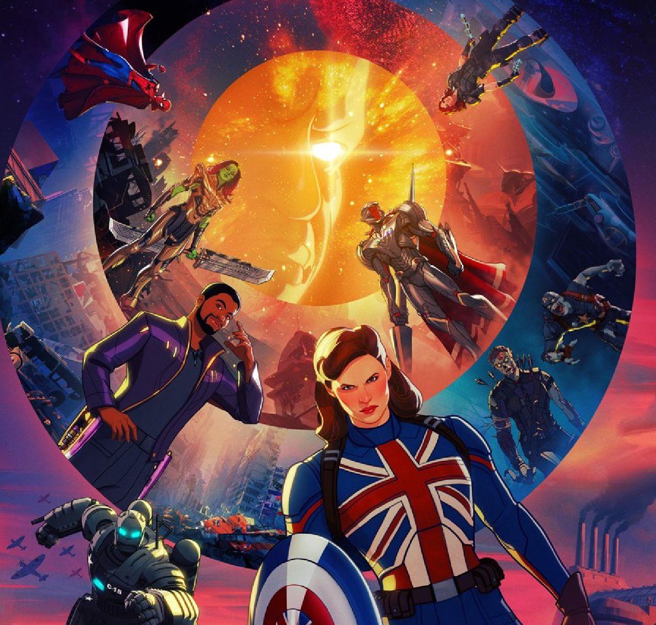 superhéroes de marvel capitana bretaña