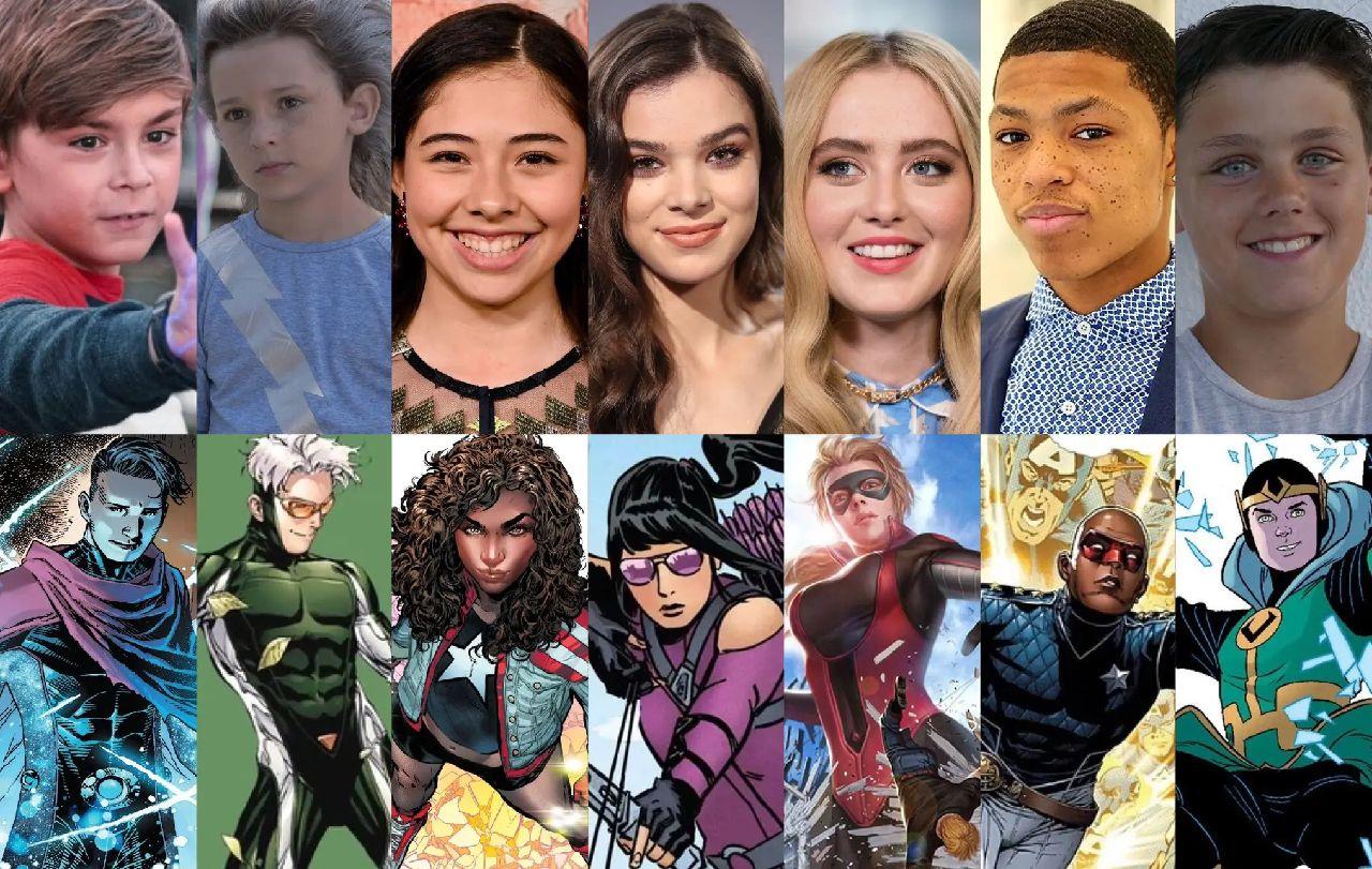 superhéroes de marvel kid loki