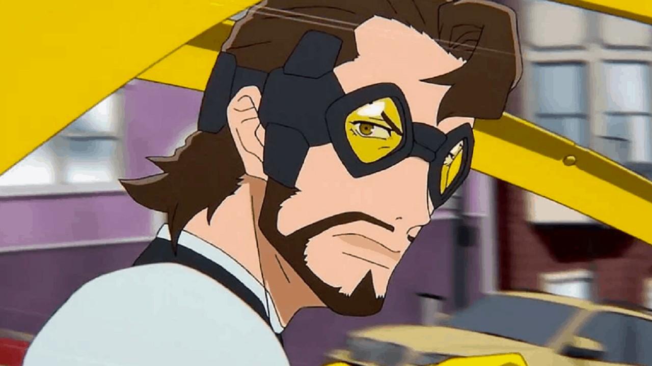 Series de Netflix Super Crooks Anime Bones My Hero Academia