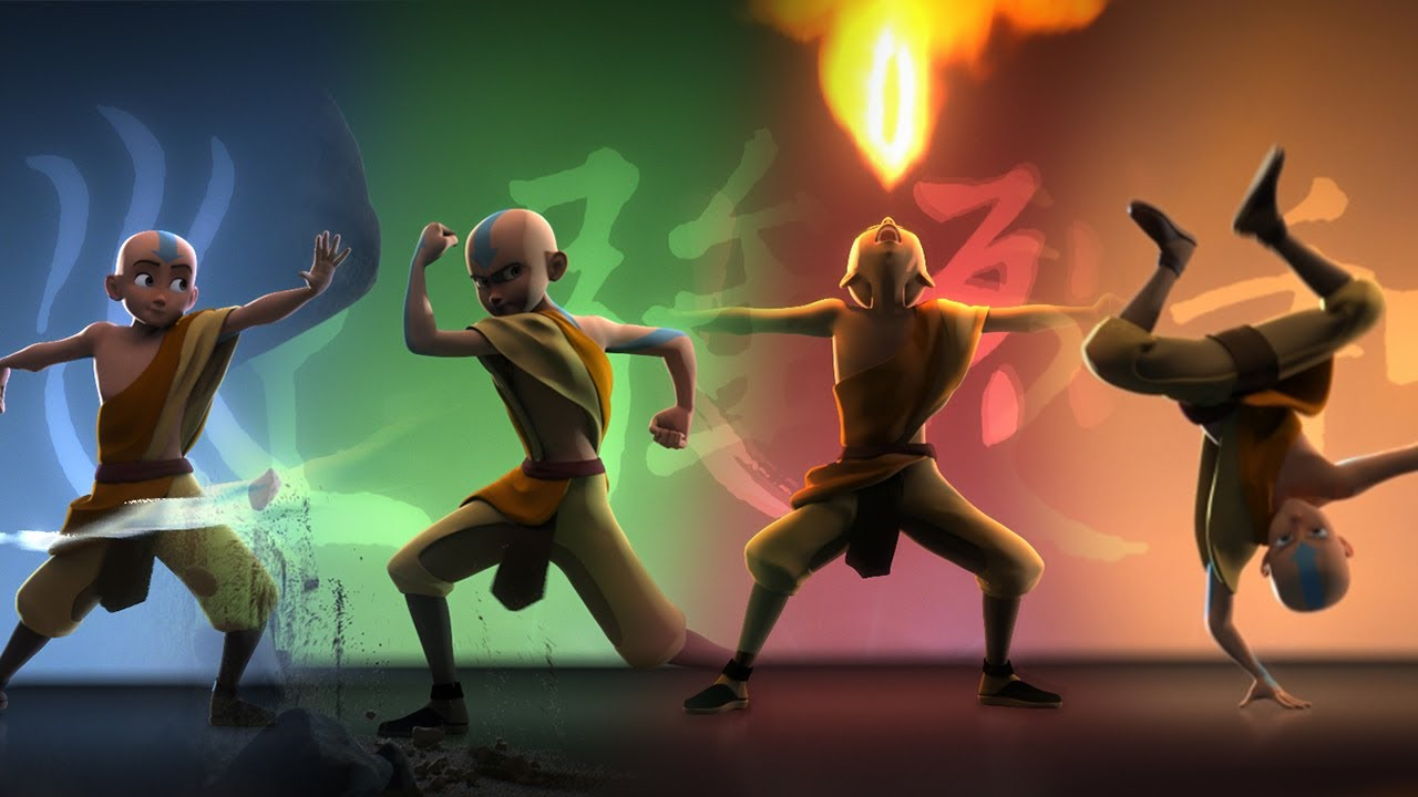 Avatar The Last Airbender Película CG Animación 3D