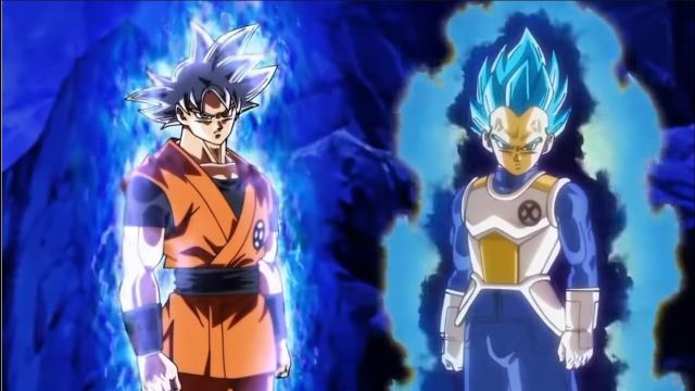 Dragon Ball heroes saiyajin enfrentamiento