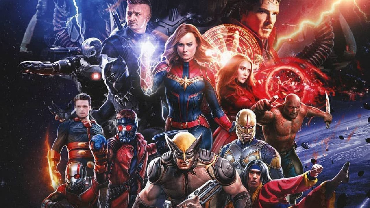 personajes de marvel mcu new avengers