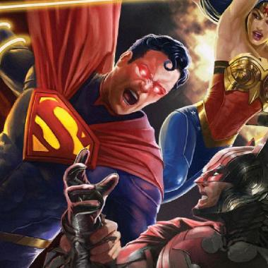 personajes de dc comics injustice trailer pelicula animada