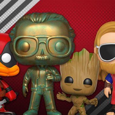personajes de marvel funko colección