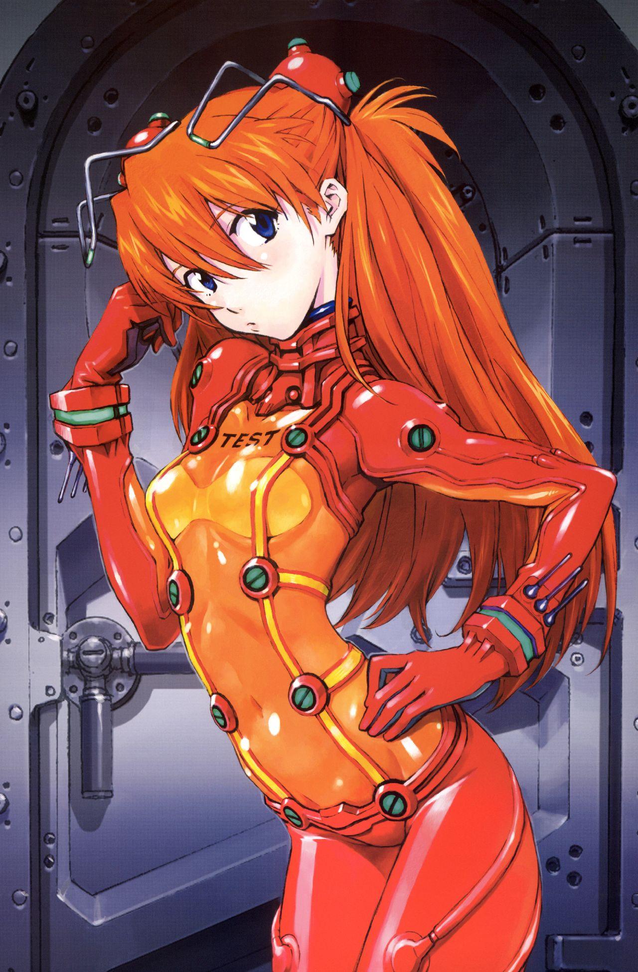 personajes de evangelion manga