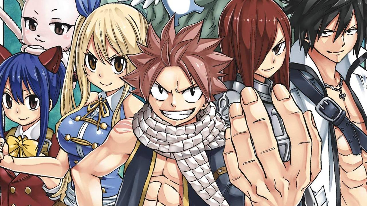 Fairy Tail 100 years quest anucia anime