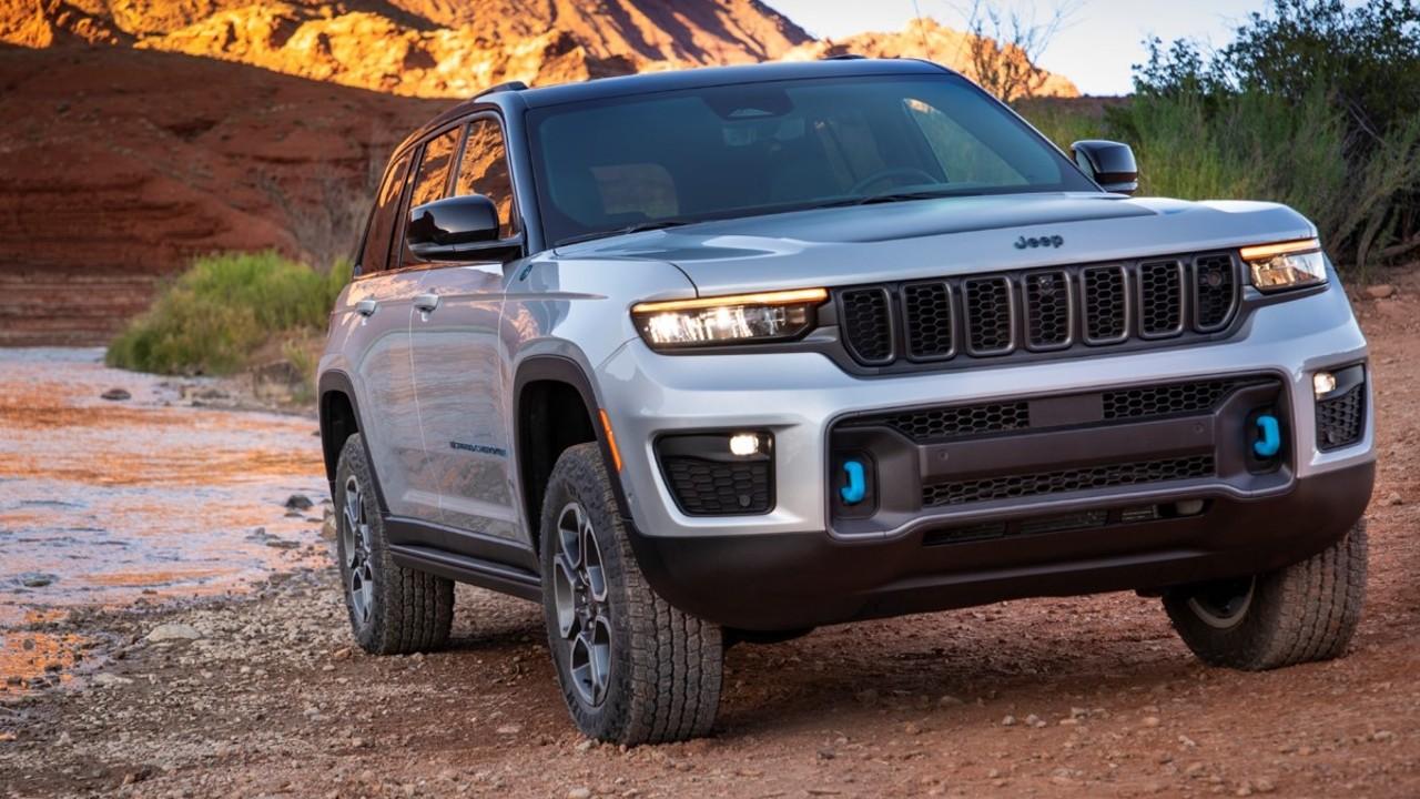 Grand Cherokee 2022 jeep hibrido
