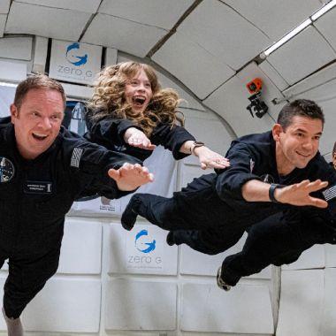 Inspiration 4 mision espacial netflix serie documental