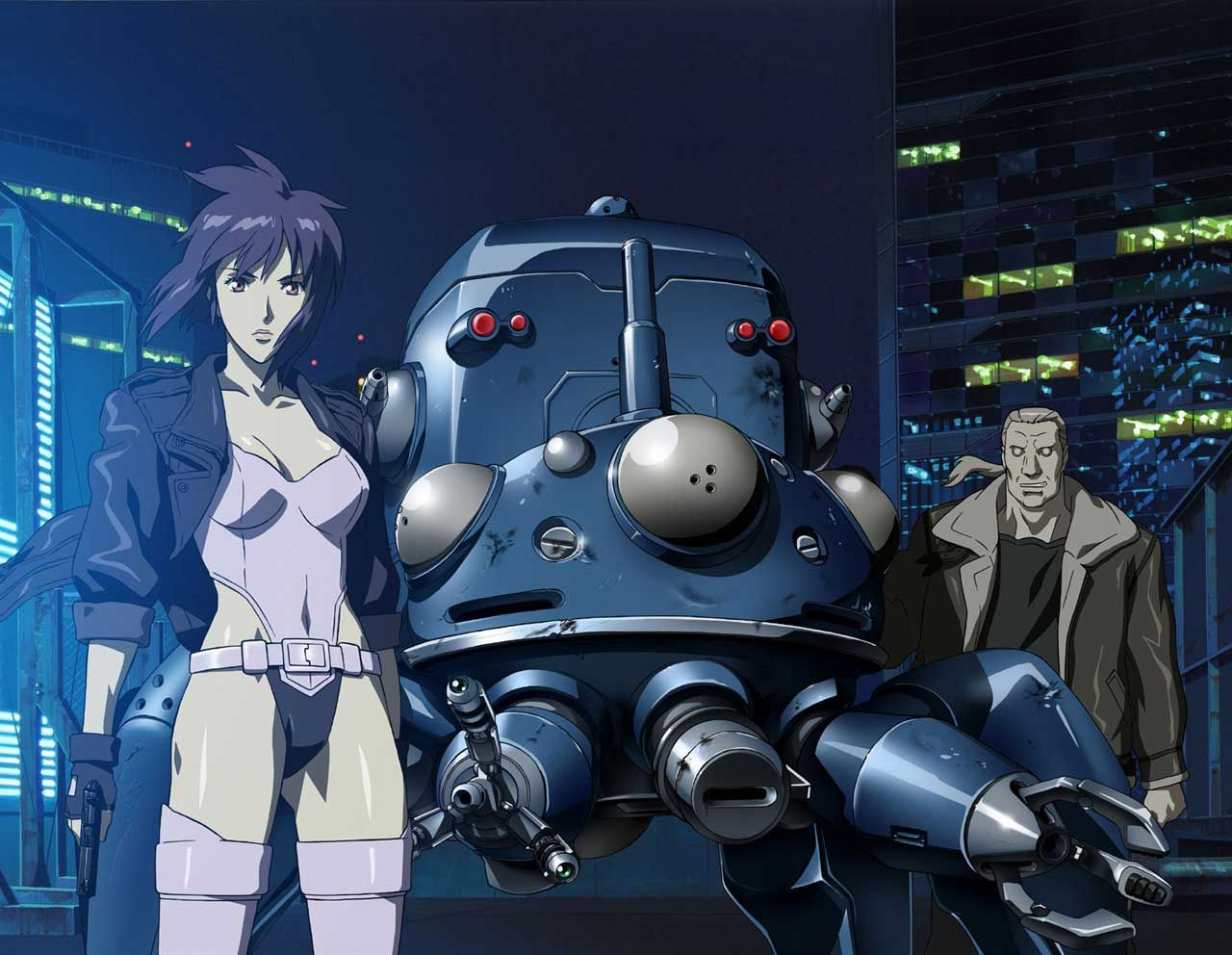 personajes de dragon ball ghost in the shell