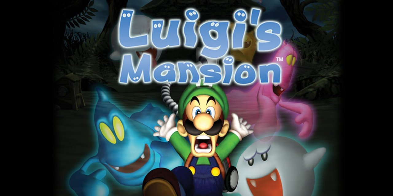 Luigis Mansion juego Nintendo GameCube