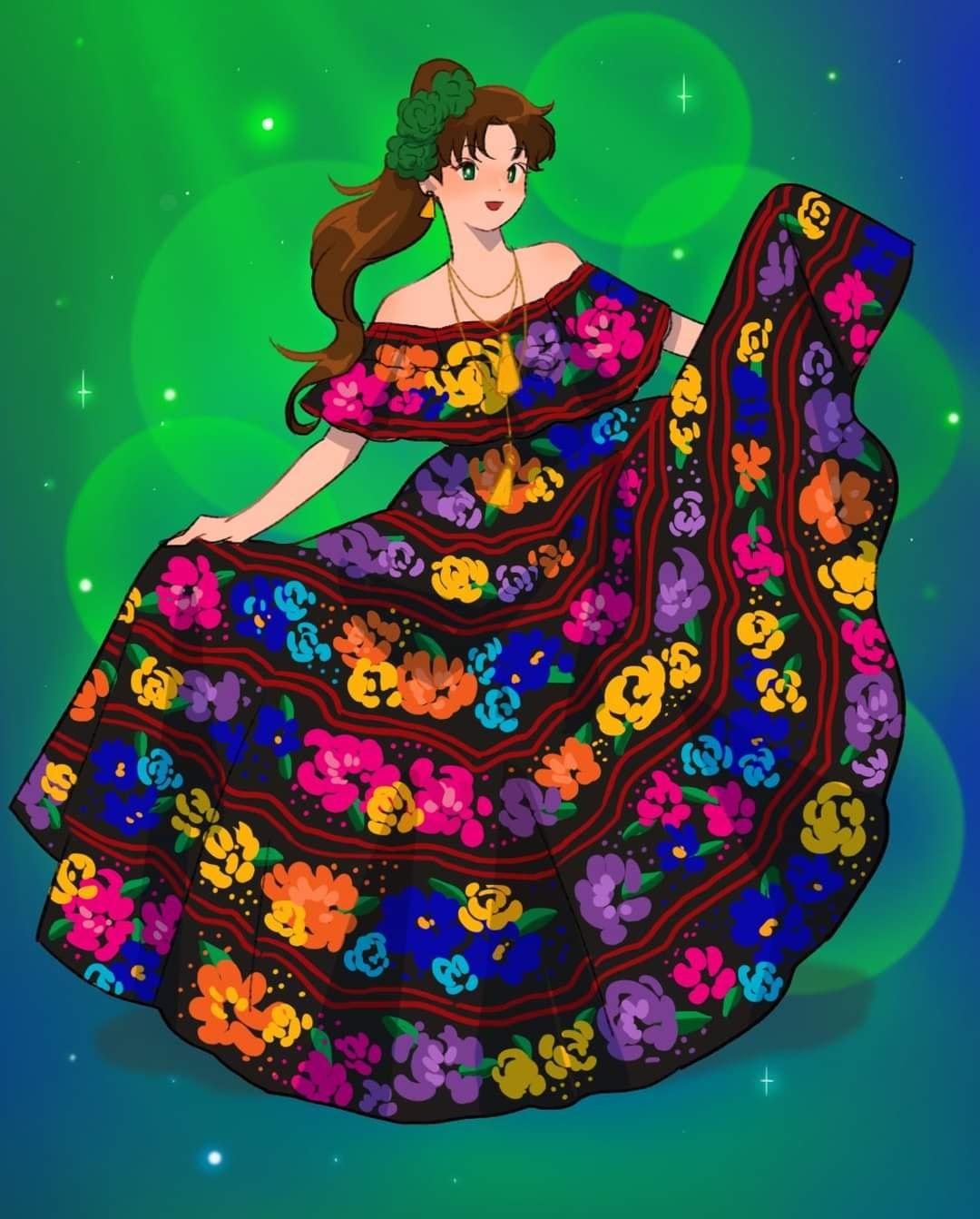 Makoto traje tipico mexico