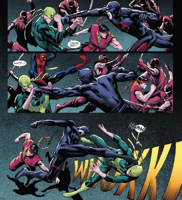 personajes de marvel daredevil