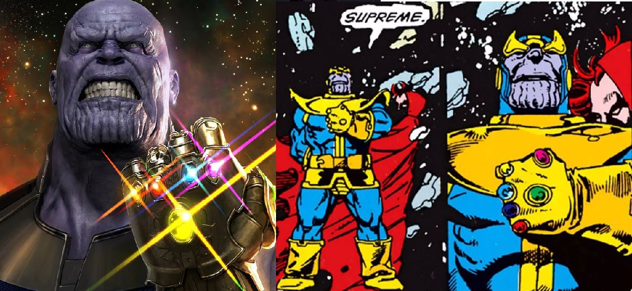 personajes de marvel thanos