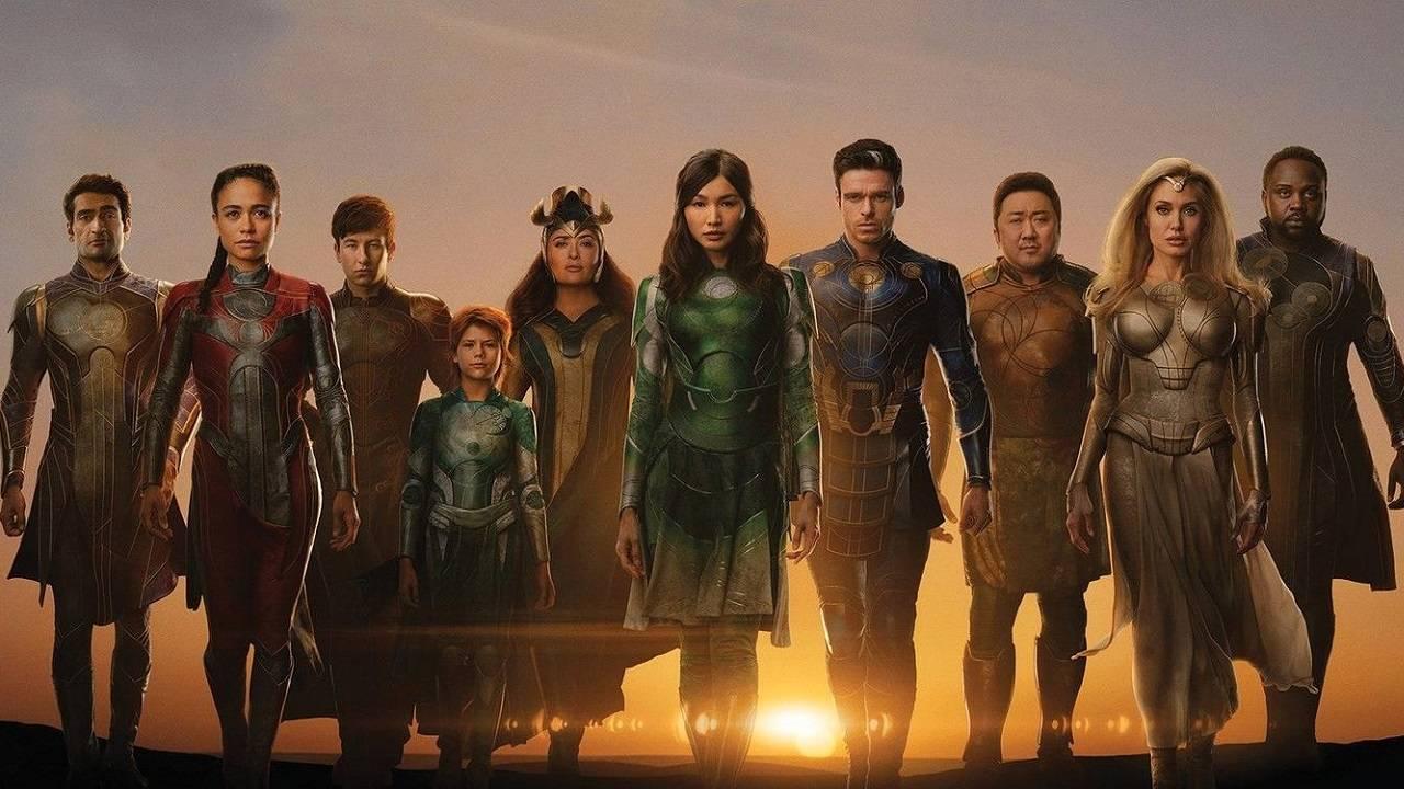 Los Eternos The Eternals Película Marvel Estreno Directora Chloé Zhao