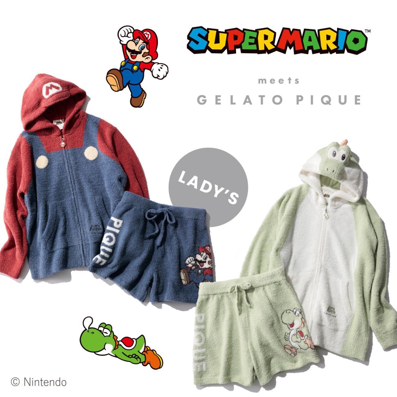 Pijamas super mario colección nintendo