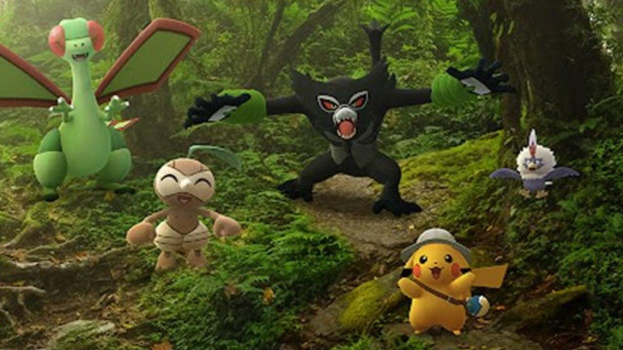 Pokémon Go evento Zarude película