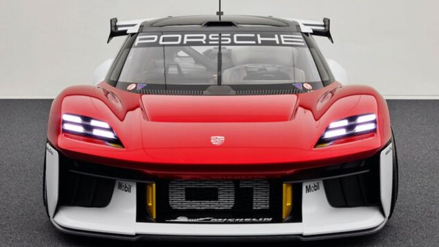 Porsche Mission R auto carreras eléctrico