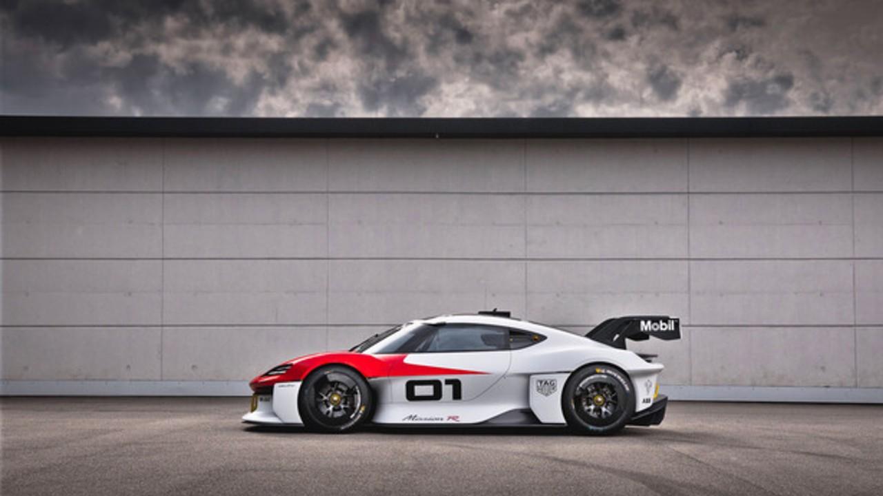 Porsche mission r auto carreras
