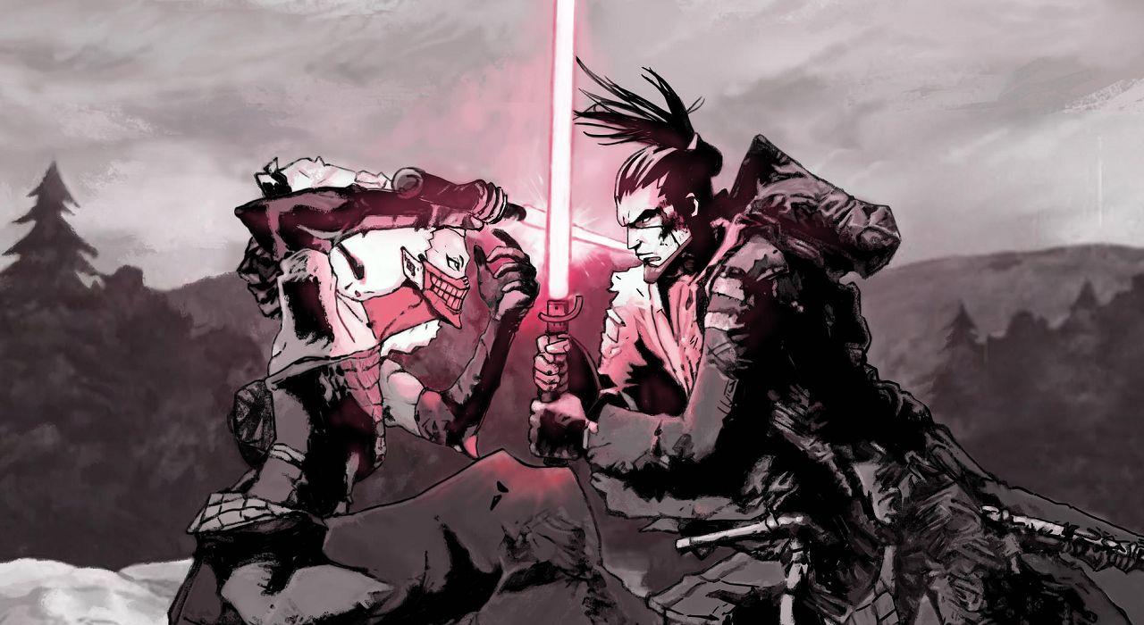 personajes de star wars el duelo