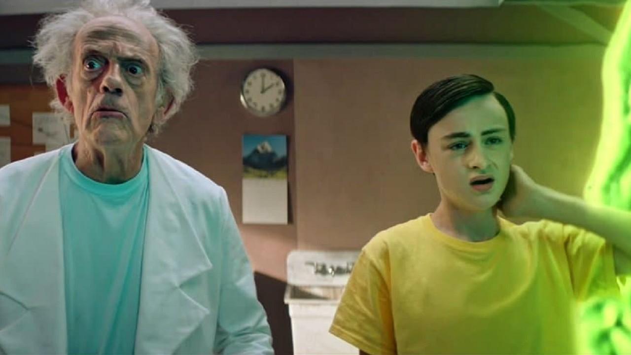 Rick and Morty Christopher Lloyd Volver al Futuro Back to the Future