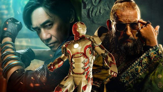 personajes de marvel mandarin shang chi iron man 3