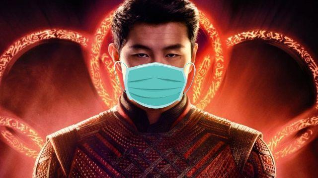 personajes de marvel shang chi cubre bocas covid 19