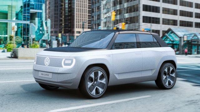Volkswagen auto electrico id life