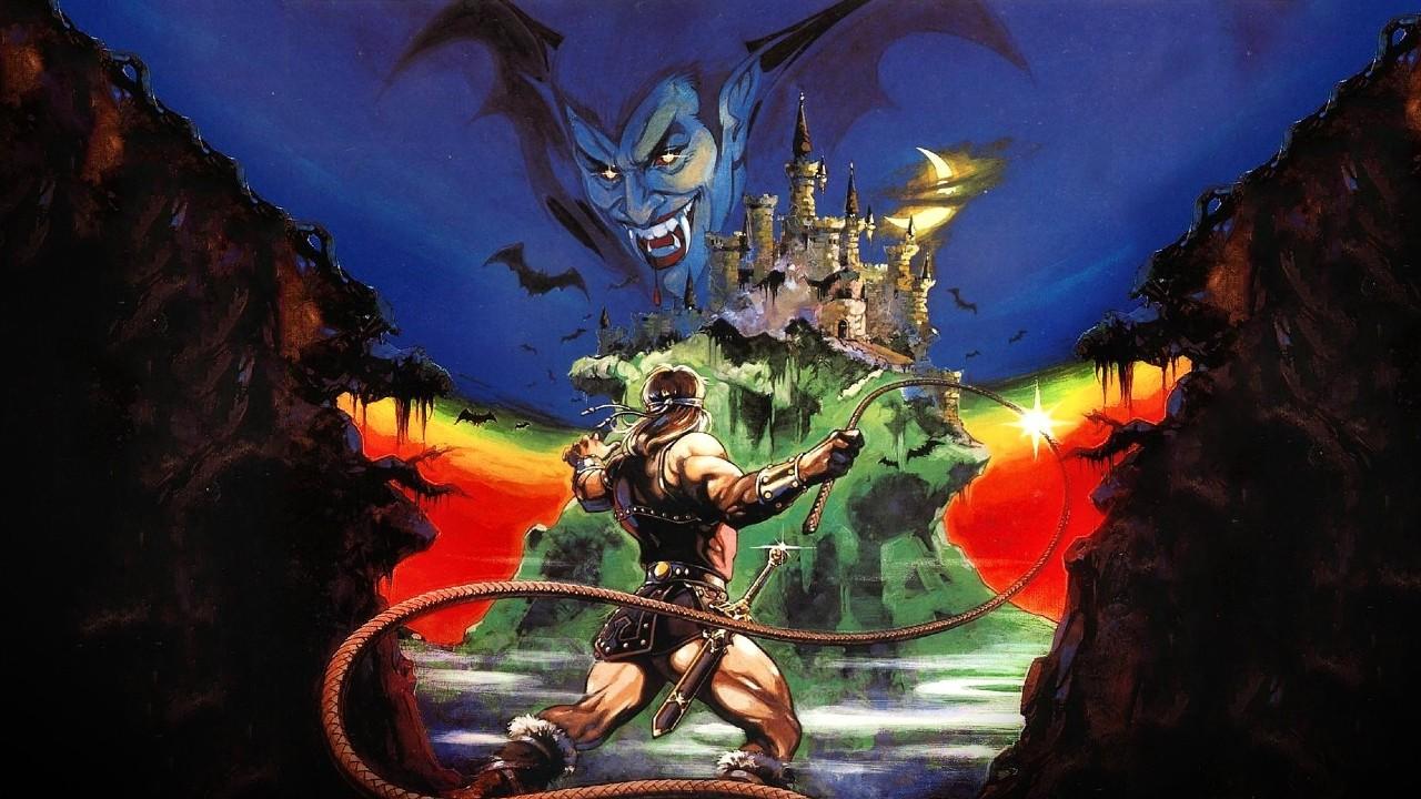 Castlevania juego simon belmont 1986 konami