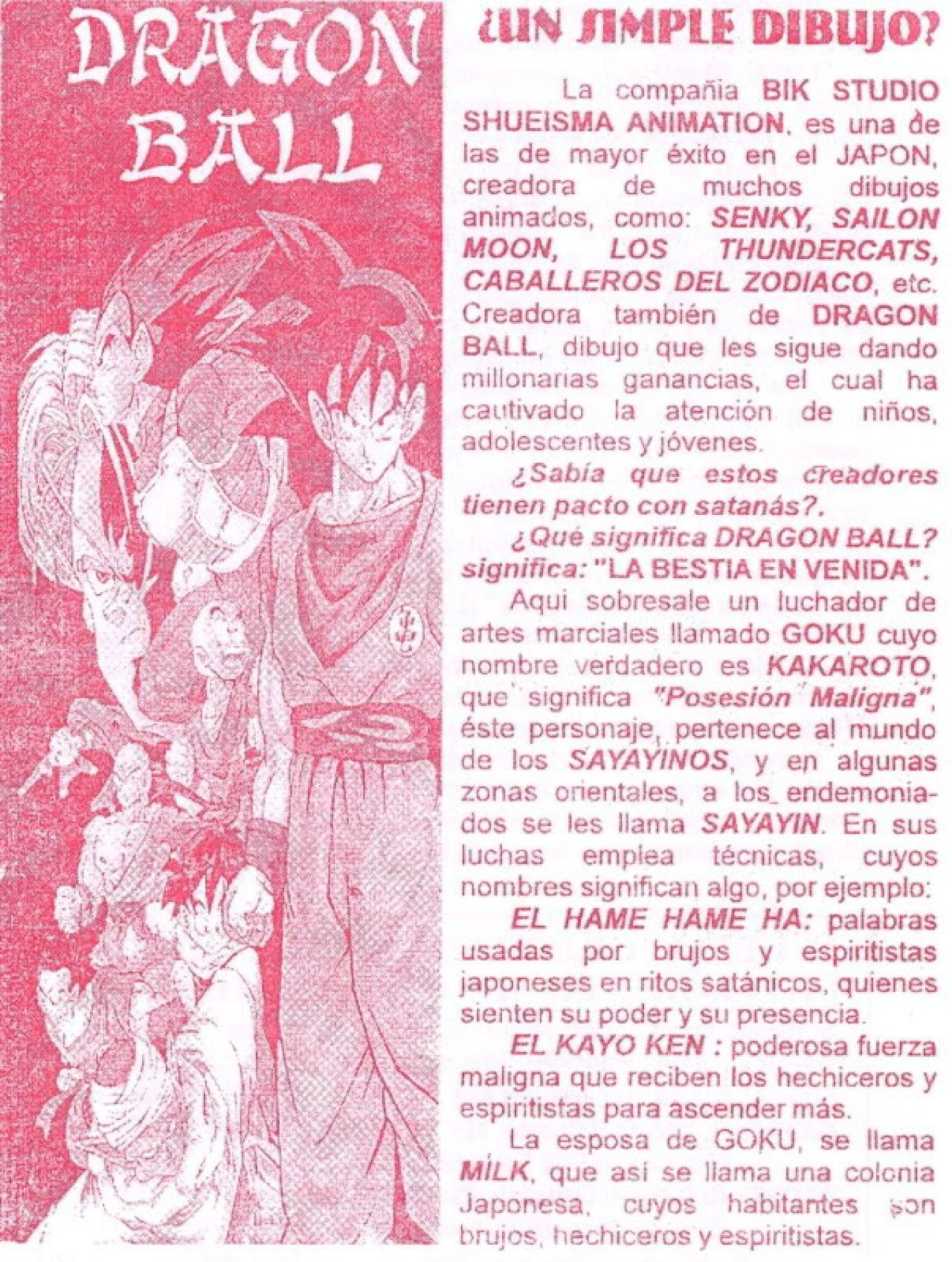 dragon ball satanico