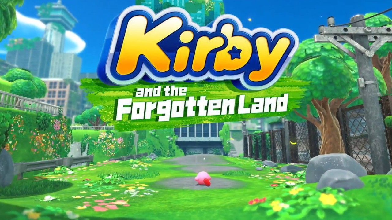 Nuevo juego kirby nintendo switch forgotten land