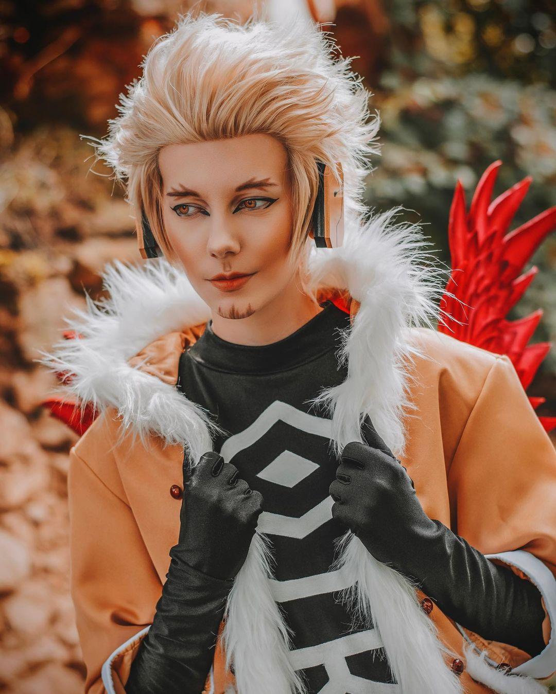Hawks my hero academia cosplay sanny