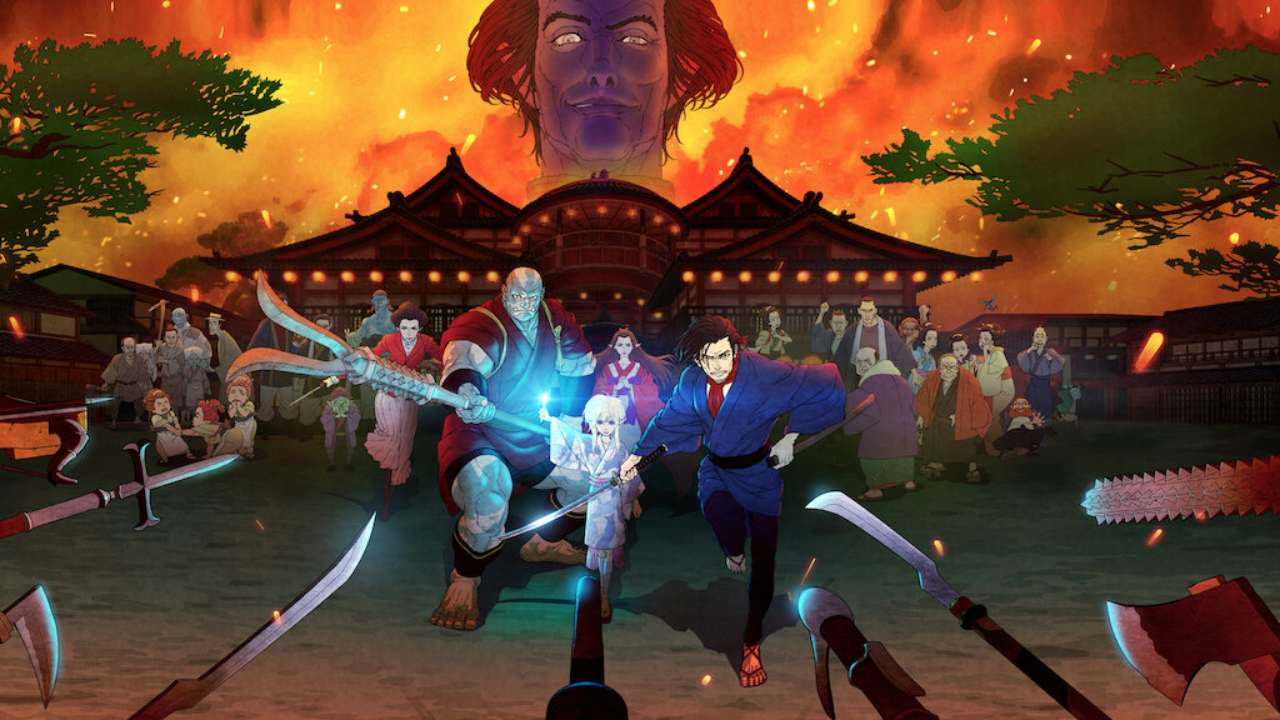 Adelanto batalla Bright Samurai Soul Netflix