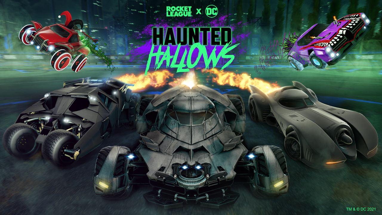 Batman Haunted Hallows Rocket League