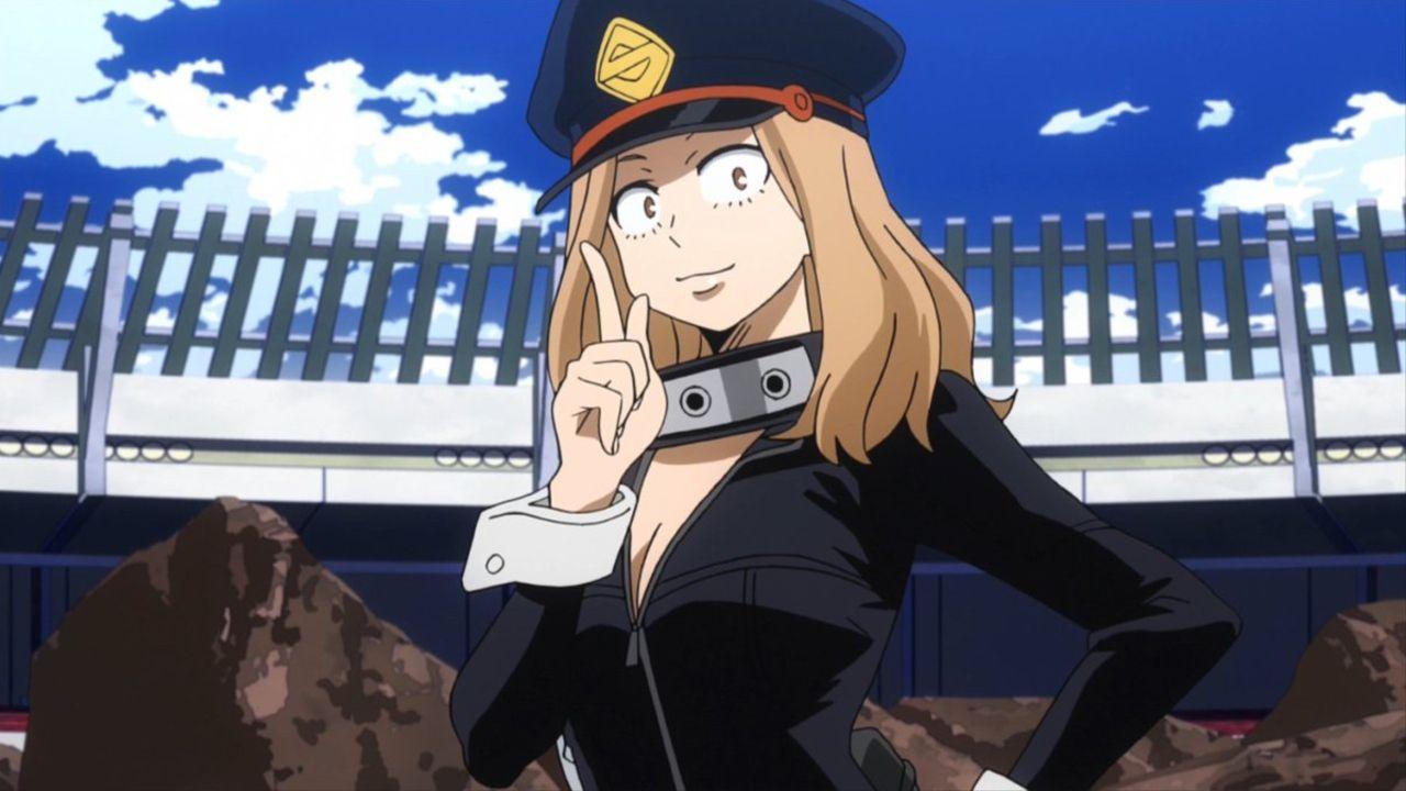 personajes de my hero academia Kemy Utsushimi