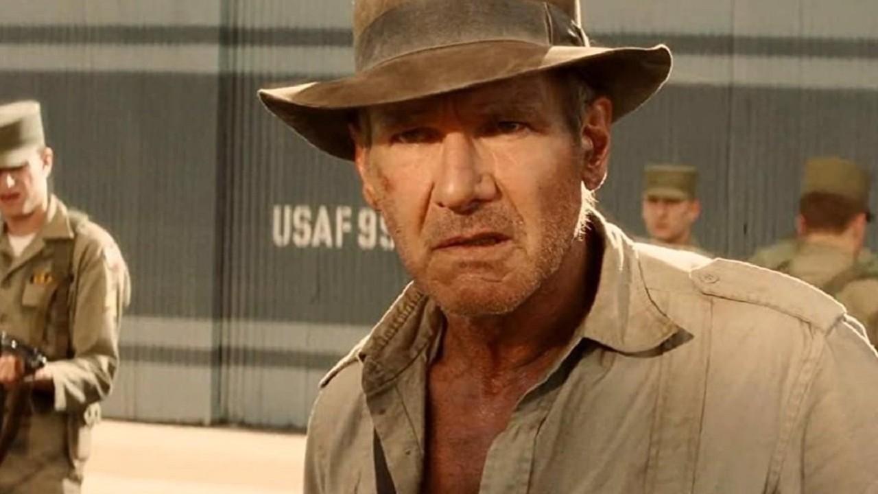 Indiana Jones 5 Harrison Ford Grabaciones Película
