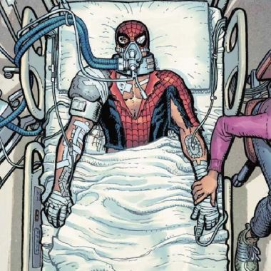 personajes de marvel spider-amn muerte