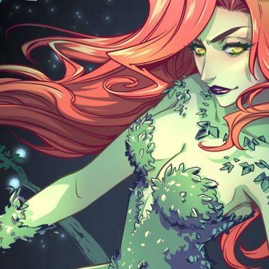Cosplay poison ivy martina witch batman