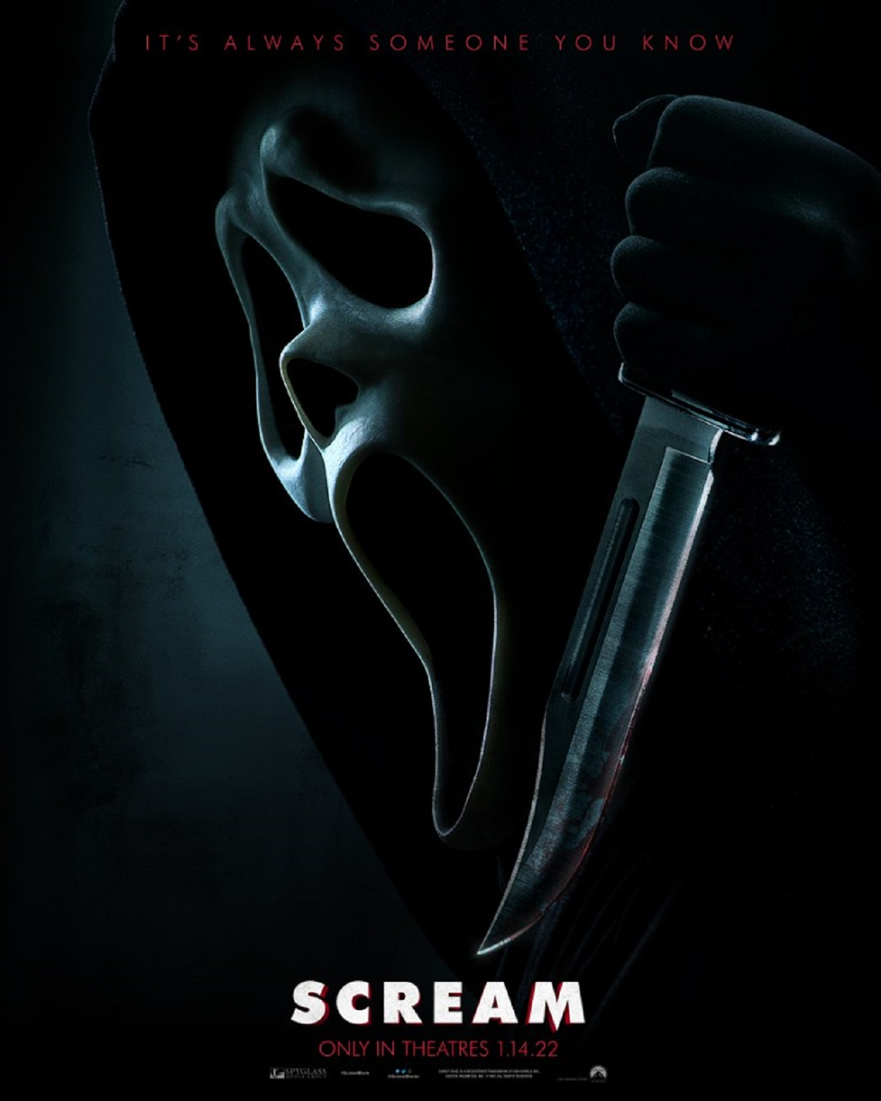 Scream 5 Nueva Película Scream Slasher Terror