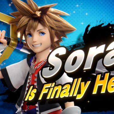 Sora Kingdom Hearts Nintendo Switch DLC Super Smash Bros. Ultimate