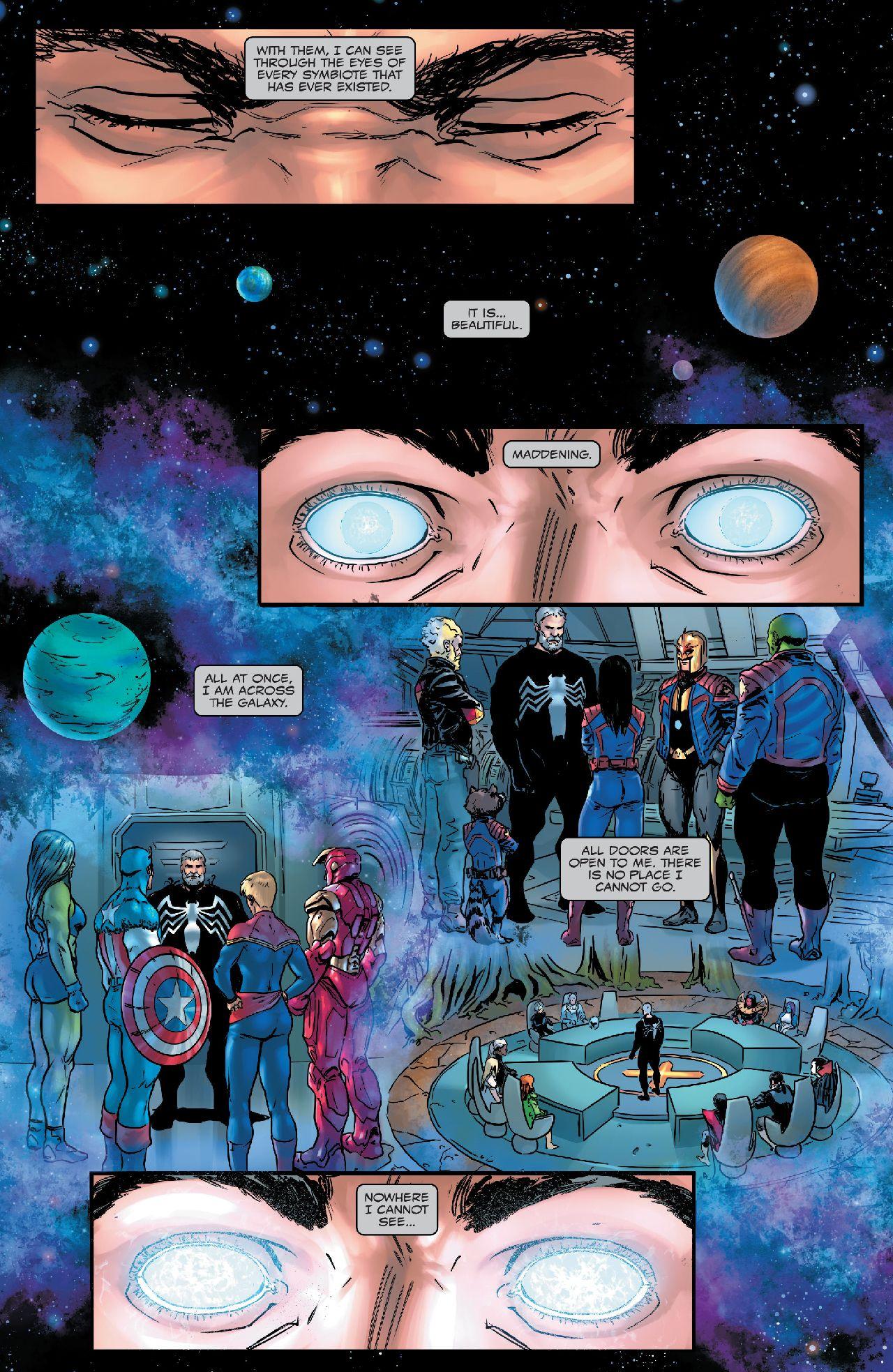 personajes de marvel king in black