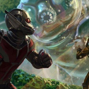 Ant-Man 3 Ant Man and the Wasp: Quantumania Película Arte Logo