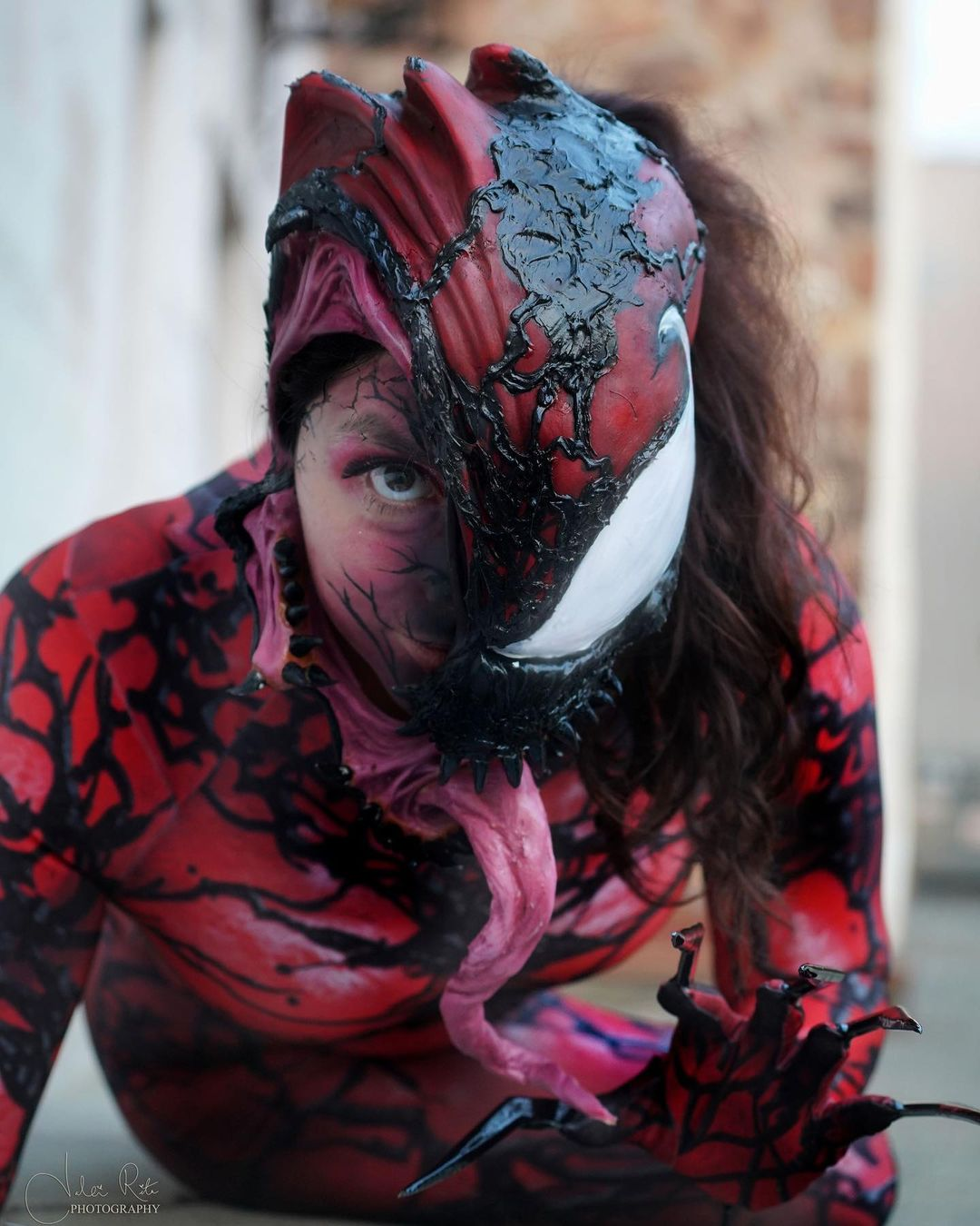 cosplay carnage mujer ixchel